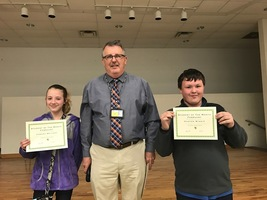 Pleasant View Students of the Month