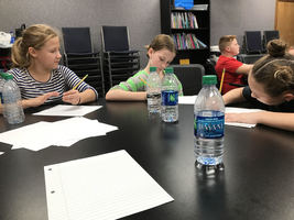 Pleasant View Students Attend Writing Workshop