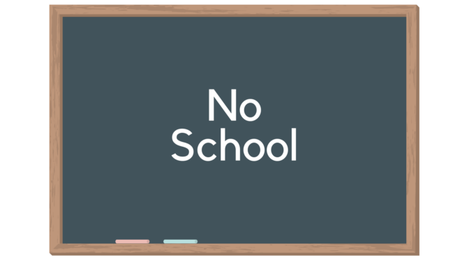 No school - Wednesday, January 22nd