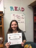 Pleasant View Student Wins Writing Contest