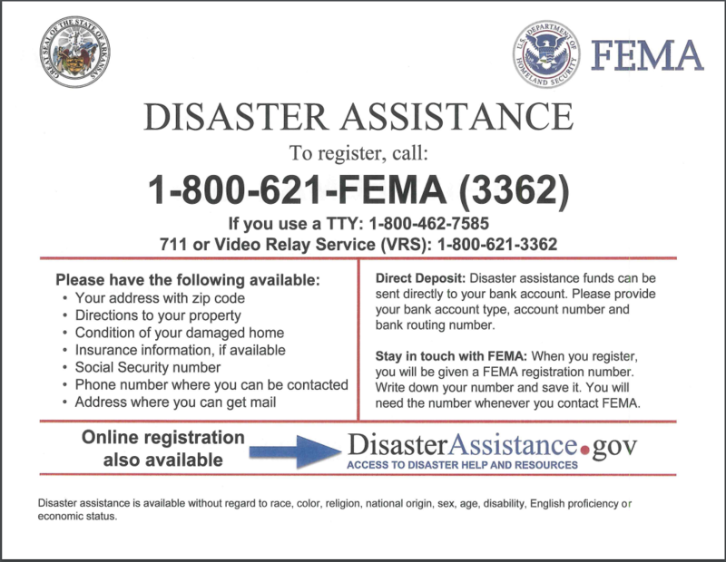 FEMA - Disaster Assistance
